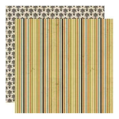 Lily Bee Designs - Harvest Market - Hayride 12X12 D/Sided Paper  (Pack Of 10)