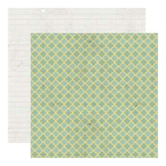 Lily Bee Designs - Memorandum 9To5 - 12X12 D/Sided Paper  (Pack Of 10)