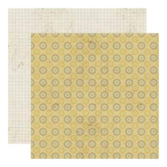 Lily Bee Designs - Memorandum - Time Clock 12X12 D/Sided Paper  (Pack Of 10)