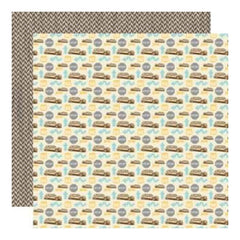Lilybee Design - Destination - Interstate 12X12 D/Sided Paper  (Pack Of 10)