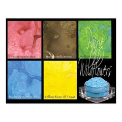 Lindy's Stamp Gang - Magicals Set - Prairie Wildflowers 5/Pk
