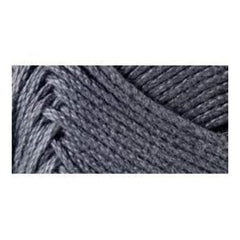 Lion Brand 24/7 Cotton Yarn - Charcoal - 3.5oz/100g