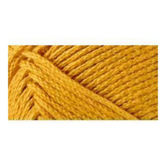 Lion Brand 24/7 Cotton Yarn - Goldenrod - 3.5oz/100g