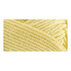 Lion Brand 24/7 Cotton Yarn - Lemon - 3.5oz/100g