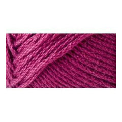 Lion Brand 24/7 Cotton Yarn - Magenta - 3.5oz/100g