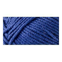 Lion Brand 24/7 Cotton Yarn - Navy- 3.5oz/100g