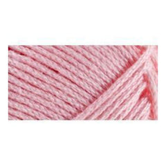 Lion Brand 24/7 Cotton Yarn - Pink - 3.5oz/100g