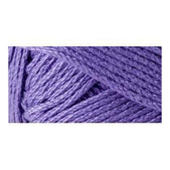 Lion Brand 24/7 Cotton Yarn - Purple - 3.5oz/100g