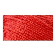 Lion Brand 24/7 Cotton Yarn - Red - 3.5oz/100g