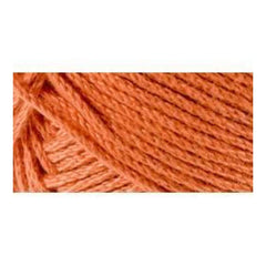 Lion Brand 24/7 Cotton Yarn - Tangerine - 3.5oz/100g