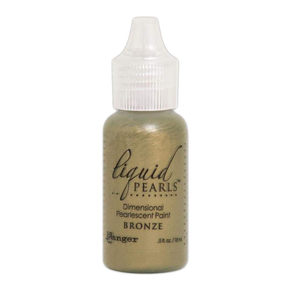 Liquid Pearls Dimensional Pearlescent Paint .5oz - Bronze