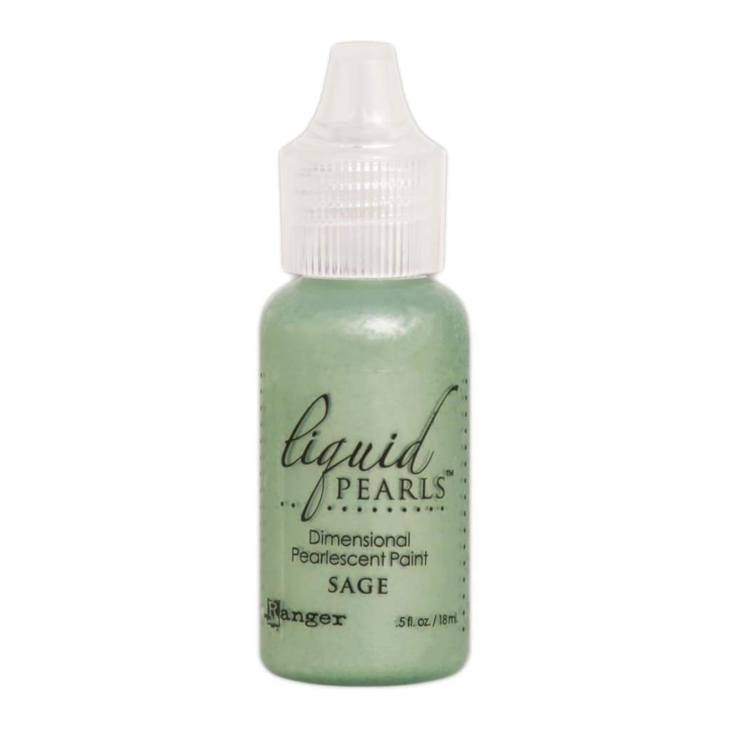 Ranger Liquid Pearls Dimensional Pearlescent Paint .5oz - Sage