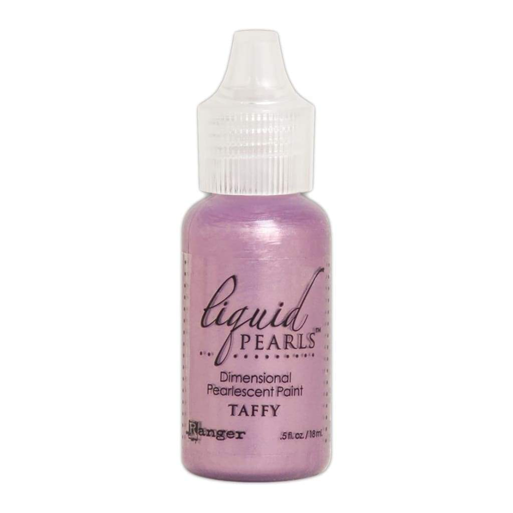 Ranger Liquid Pearls Dimensional Pearlescent Paint .5oz - Taffy