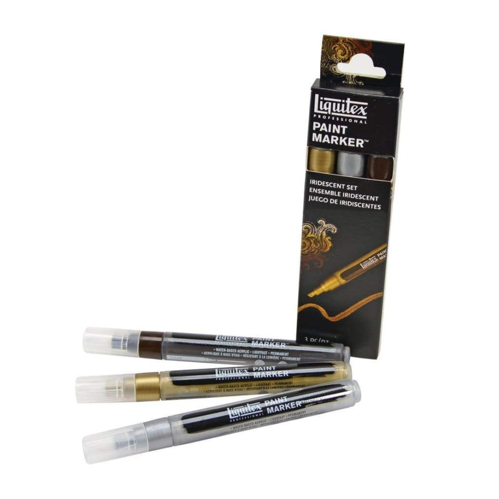 Liquitex Professional Paint Marker Set Iridescent