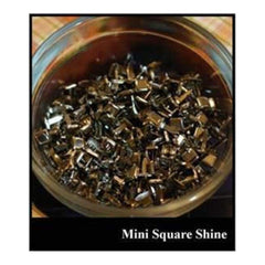 Love You More - Square Mini Brads - Shine 500/Bag