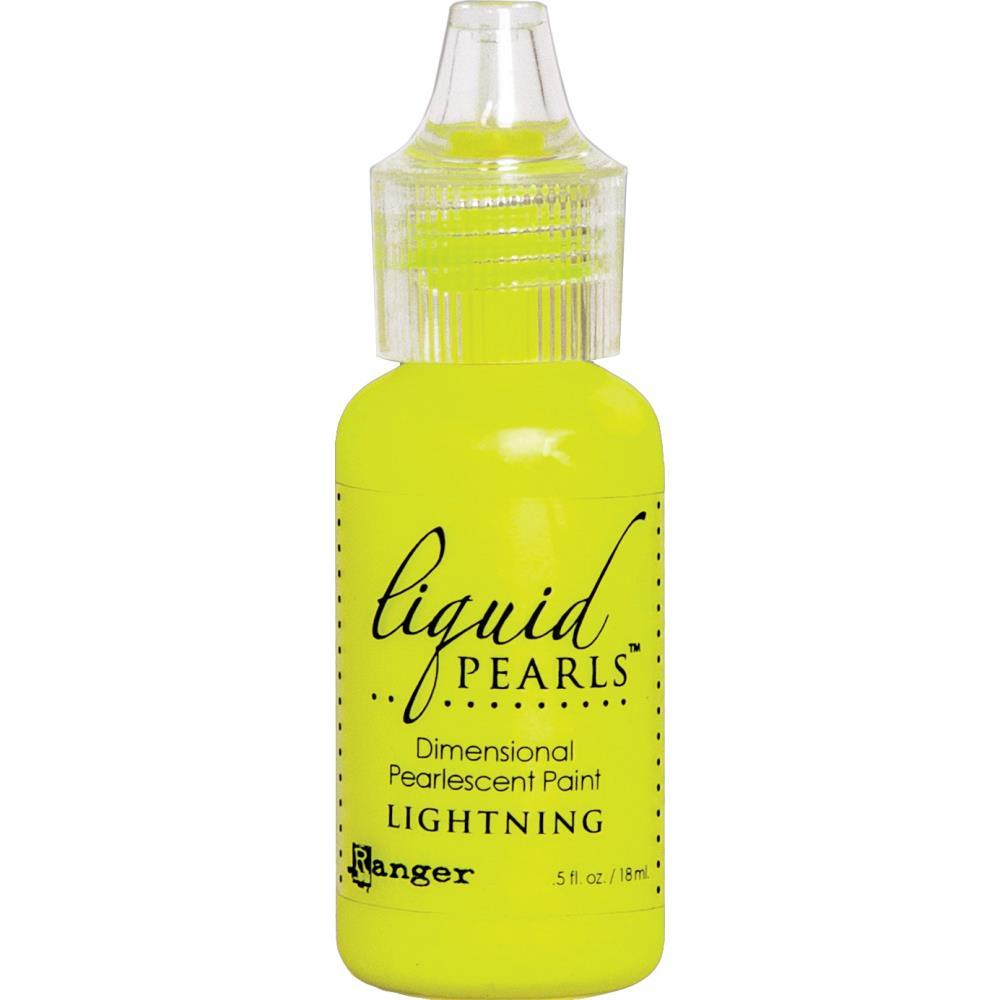 Ranger Liquid Pearls Dimensional Pearlescent Paint .5oz - Lightning