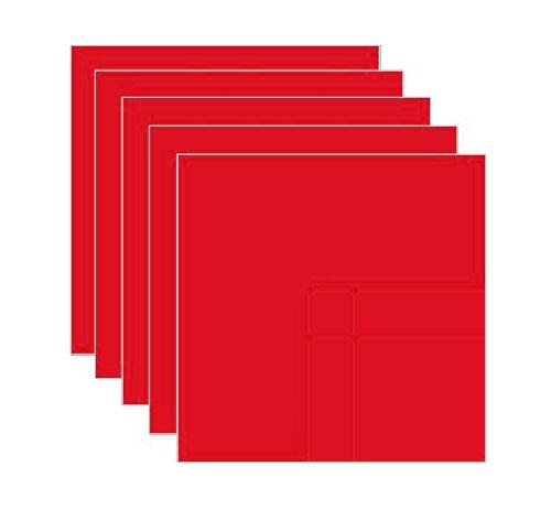 Universal Crafts Adhesive Vinyl - Matte Light Red Single 12 x 12 inch Sheet