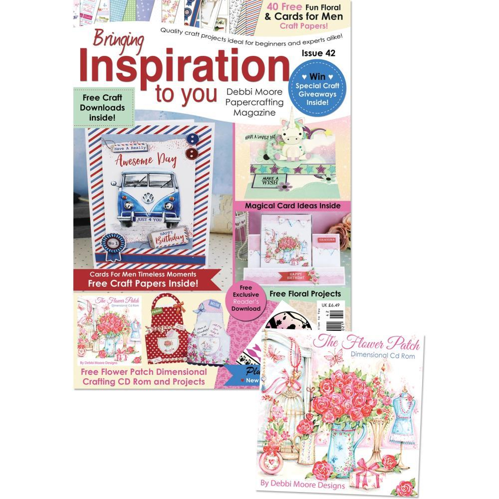 Debbi Moore Bringing Inspiration To You Magazine Issue 42 with CD Rom