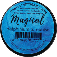Lindys Stamp Gang Magicals 0.25oz Jar - Delphinium Turquoise