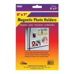 Magnetic Photo Holders 2 pack 5X7