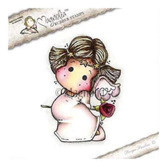 Magnolia - A Touch Of Love Cling Stamp 5.5 Inch X3.75 Inch  Package Tilda With Star Diadem