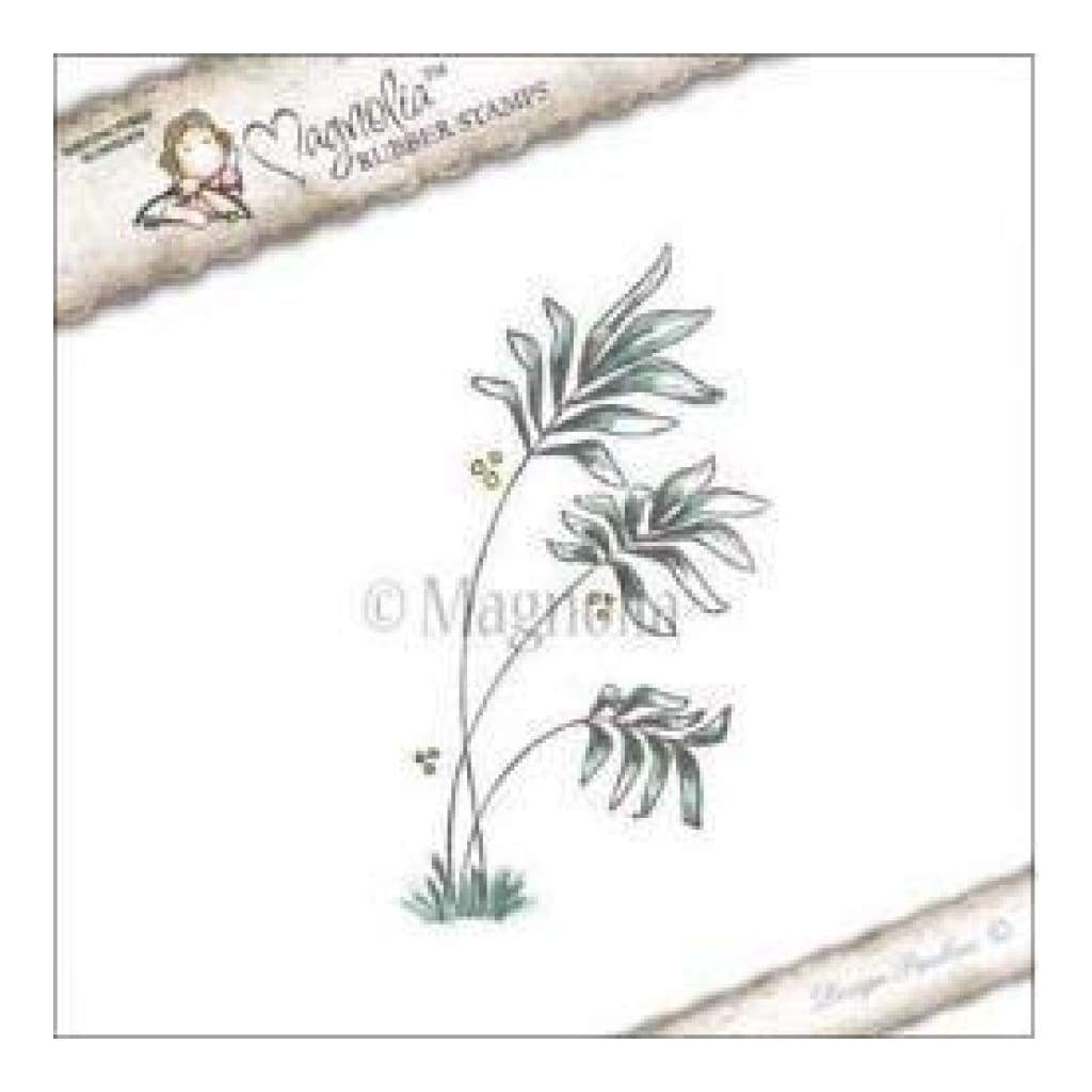 Magnolia - Lovely Duo's Cling Stamp 6.5In. X4in.  Package - Aloha Palm