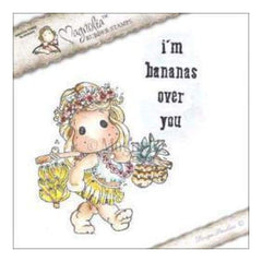 Magnolia - Lovely Duo's Cling Stamp 6.5In. X4in.  Package - I'm Bananas Over You