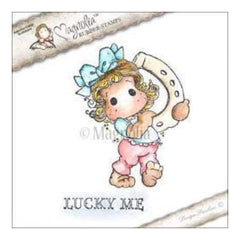 Magnolia - Lovely Duo's Cling Stamp 6.5In. X4in.  Package - Lucky Me Tilda