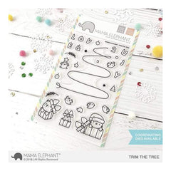 Mama Elephant - Trim The Tree - Stamps