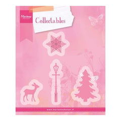 Marianne Design Collectables Dies Christmas Village Decoration, To 1.5X2