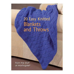Martingale & Company 20 Easy Knitted Blankets & Throws
