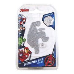 Marvel Avengers Die And Face Stamp Set Avengers Unstoppable Hulk