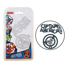 Marvel Avengers Die Set Captain America Icon & Sentiment