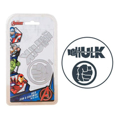 Marvel Avengers Die Set The Hulk Icon & Sentiment