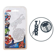 Marvel Avengers Die Set Thor Icon & Sentiment