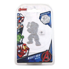 Marvel Die And Face Stamp Set Avengers Mighty Hulk