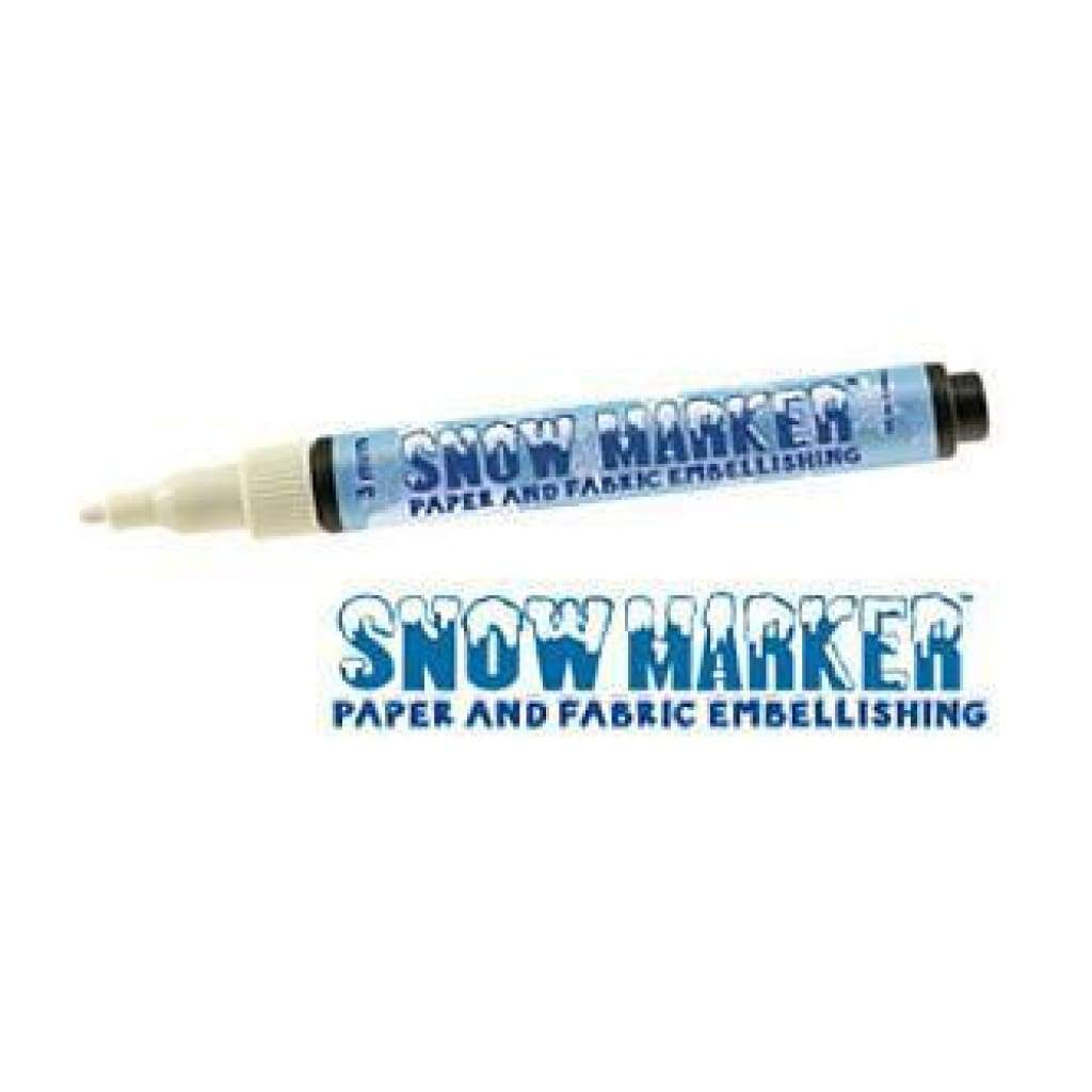 Marvy - Snow Marker Fabric & Paper Embellishing Marker