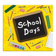 Mbi School Days Post Bound Album 12 Inch X12 Inch  Yellow