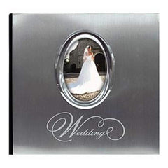 Mbi Silver Wedding Photo Album 9.75 Inch X6.75 Inch