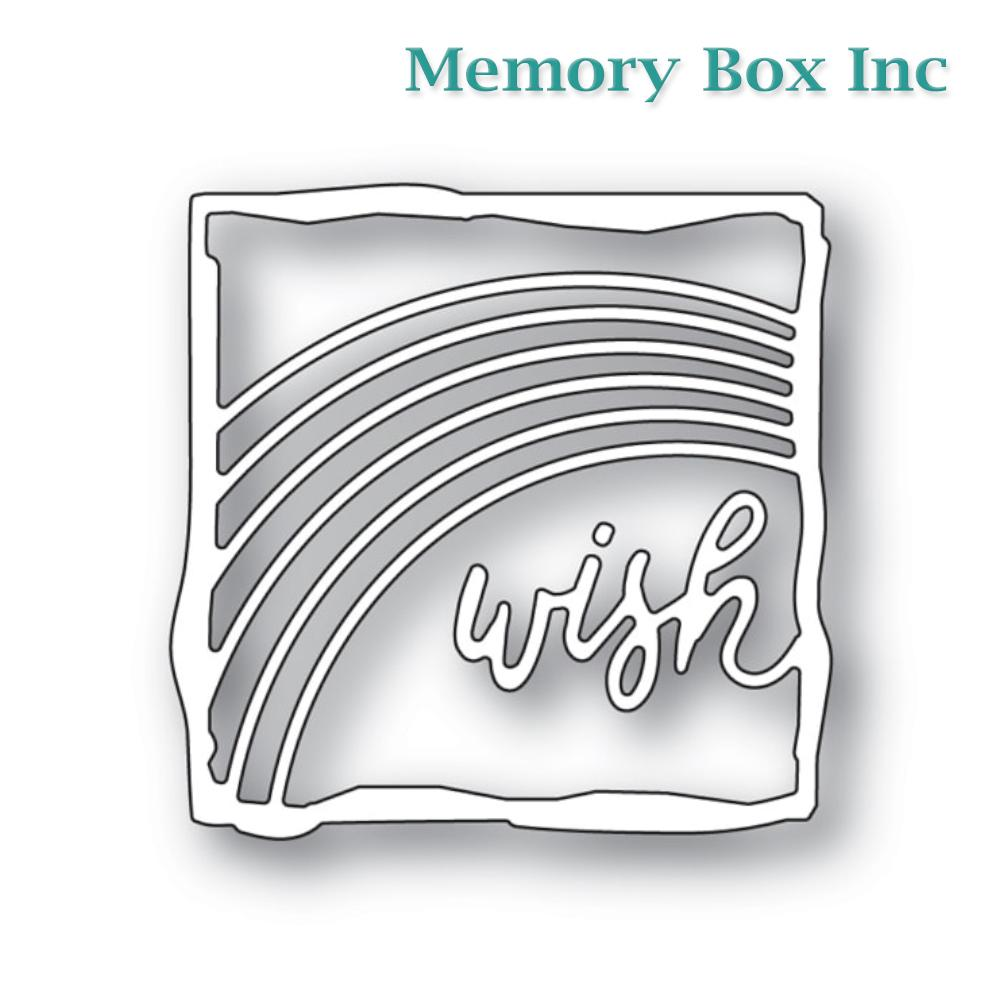 Memory Box - Wish Journal Frame craft die