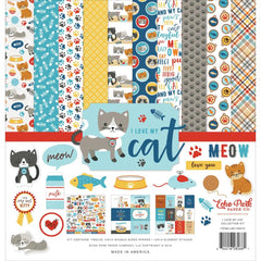 Echo Park - Collection Kit 12in.X12in. - I Love My Cat