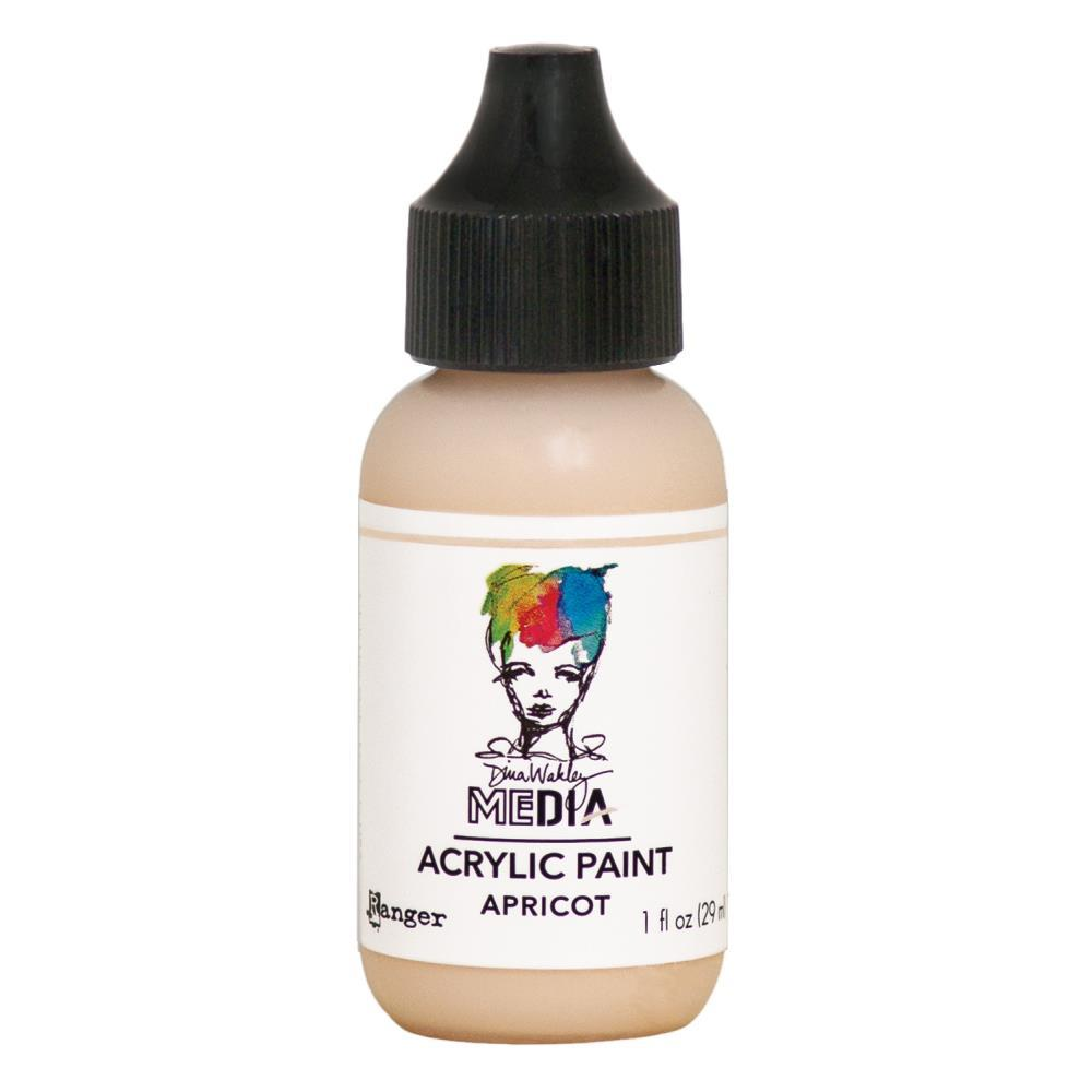 Dina Wakley Media Acrylic Paint 1oz - Apricot