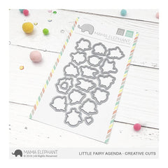 Mama Elephant - Creative Cuts Dies - Little Fairy Agenda