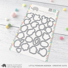 Mama Elephant - Creative Cuts Dies - Little Penguin Agenda