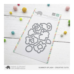 Mama Elephant - Creative Cuts Dies - Summer Splash