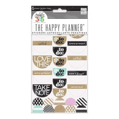 Me & My Big Ideas - Happy Planner Stickers 6/Sheets To Do, Neutral