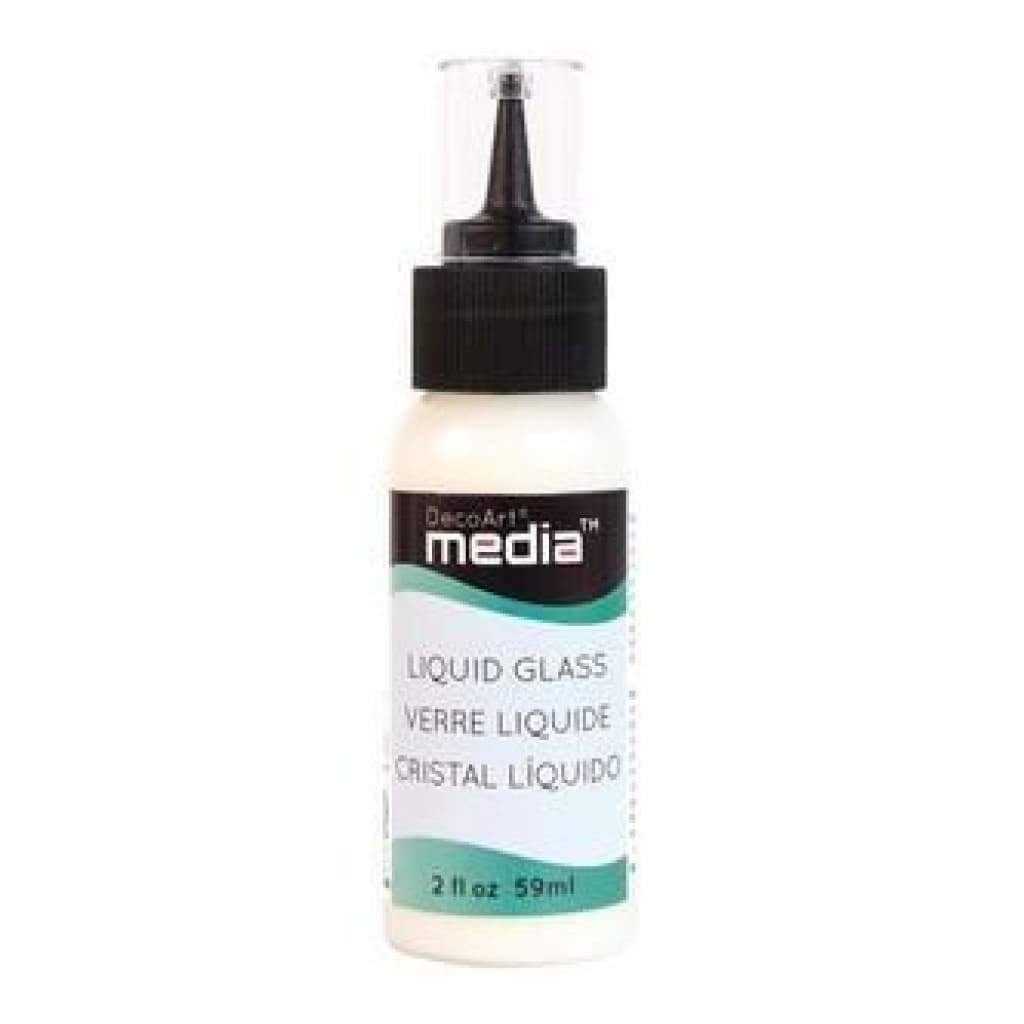 Media Liquid Glass 2Oz Clear