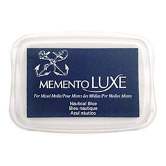 Memento Luxe Full Size Ink Pad - Nautical Blue