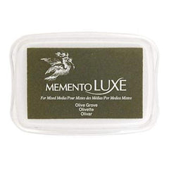 Memento Luxe Full Size Ink Pad - Olive Grove