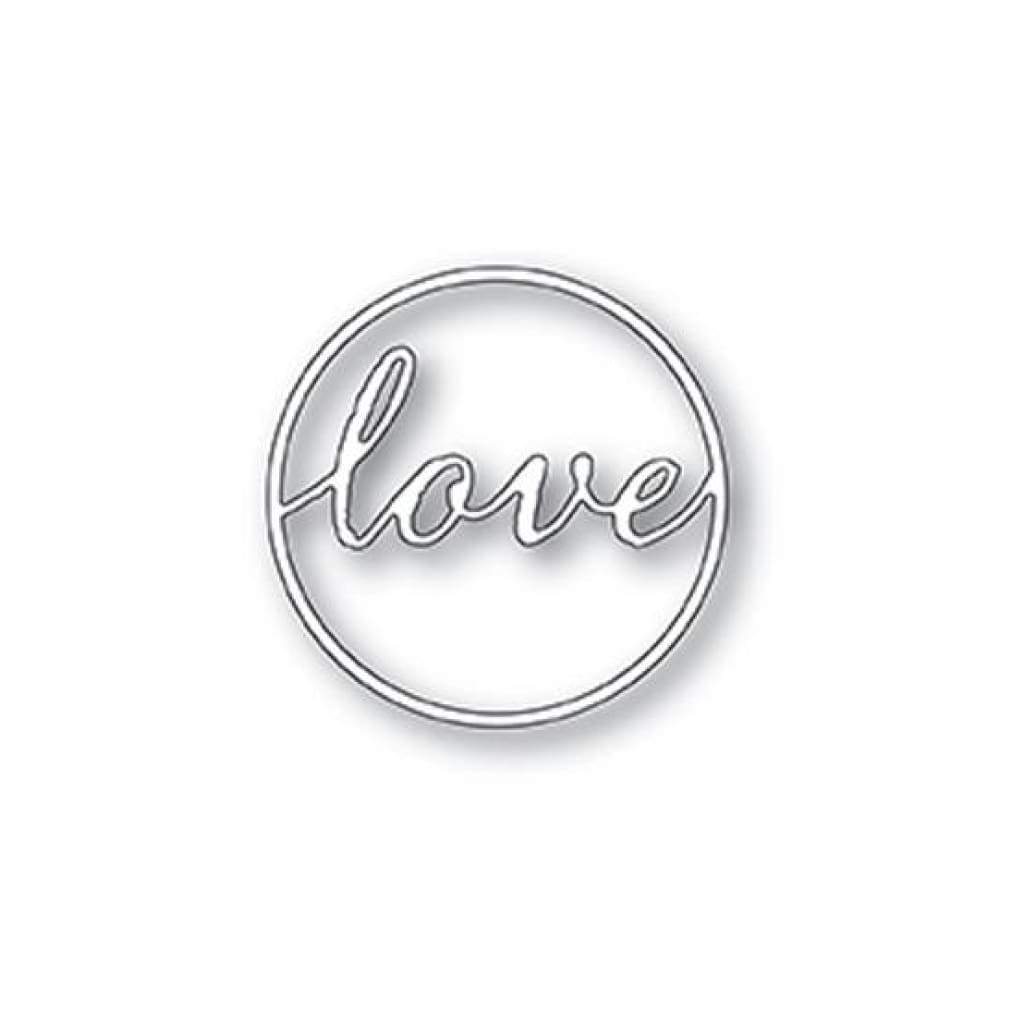Memory Box Die Design - Love Circle